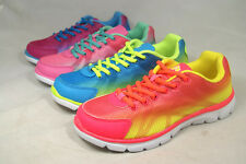 Air 486 Kid Youth Bright Neon Colorful Girl's Cute Sporty Athletic Tennis Shoes