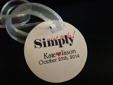 Wedding Favor Tags Personalized Simply Mint To Be Buy 2 Get 1 Free ROUND
