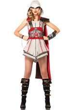 Assassin Creed Ezio Girl Women Cosplay Outfit Adult Costume