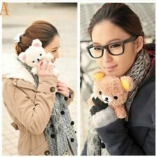 Cute 3D Funny Teddy Bear Cool Plush Toy Doll Cover Case For Samsung Phones