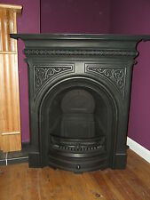 "NEW* GALLERY CELTIC ARCH 36"" CAST IRON COMBINATION FIREPLACE"