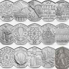 Various 50 Pence Commemorative Coins