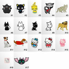 #1797IR Animal kids Children Embroidered Sew Iron On Motif Patch Applique Badge