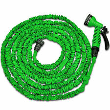 Flexible Expandable 100FT 3X Expanding Garden Water Hose Pipe Light weight Green