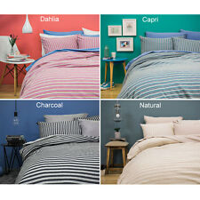 Bambury BedT Duvet Doona Quilt Cover Set - Single, Double, Queen, King, Size Bed