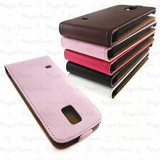 LOT PU Leather Vertical  Flip Wallet Case For Samsung Galaxy S5 mini G800H
