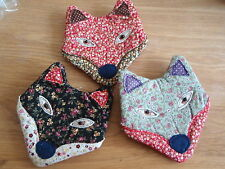 Sass & Belle Vintage Ditsy Floral Fabric Fox Coin Purse SALE!!