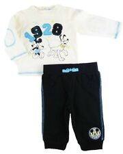 Disney Mickey Mouse Pluto Kids Infant Baby Boys 2pc Pant Shirt Outfit Set New