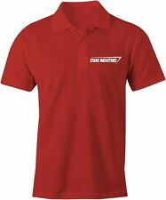 Black or Red Stark Industries Embroidered Polo Shirt T Shirt Iron Man Tony Film
