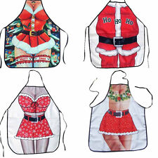 Hot COOKING Santa Claus apron sexy Christmas girls NOVELTY DINNER PARTY ADULTS