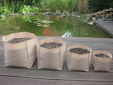Squared fabric grow pot Plant bag Smart root container  Teint - Multiple Sizes!!