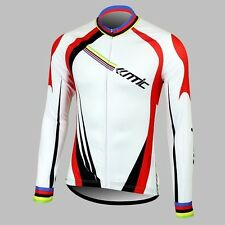Men's Bicycle Cycling Jacket Outdoor Sport Bike Long Sleeve Jersey XL-3XL Santic