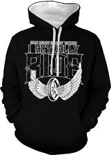 Some People Collect T-shirts I Actually Ride Motorcycle 2-tone Hoodie Pullover