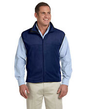 New Chestnut Hill Men's Microfleece Full-Zip Vest