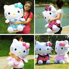 Super cute Hello Kitty design doll cat plush toy birthday gift 45- 50cm 19.5""
