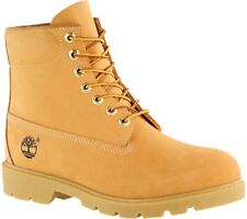"NIB Timberland 6"" Basic Waterproof  Men's Wheat Smooth Leather Boot-Size"