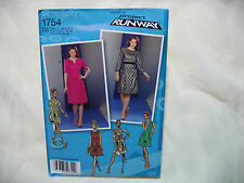 Simplicity Project Runway 1754 Sewing Pattern - Dress with bodice - New Uncut