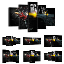 FRAMED Canvas Print Picture 48 Shapes Wall Art abstract vine glass gun 0309 an