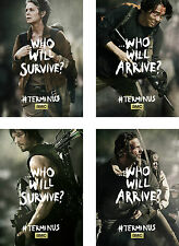 The Walking Dead Characters Poster Set - A4 A3 A2 Sets Available