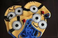 1Piece Despicable Me Knitted Hat / Knitted Minion Hat Adult / Kid Size available