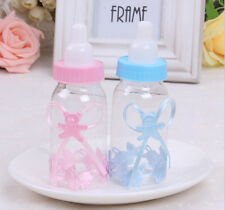 12X BabyShower Baptism Christening Birthday Gift Party Favors CandyBox Bottle GO