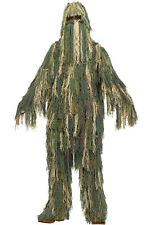 Military Spy Hunter Sharpshooter Ghillie Suit Child Costume