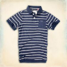 BRAND NEW GENUINE SUPERDRY STRIPPED POLO NV. UK SELLER. FAST DISPATCH