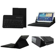 "Universal Wireless Bluetooth Keyboard PU Leather Case For 9.7"" 10.1"" Tablet PC"