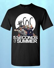 5 Seconds of Summer NEW *LOGO* T-SHIRT New 5 SOS shirts 1D shirt 5sos tees CALUM
