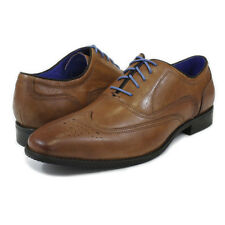 GOODYEAR 'HASTINGS' MENS FORMAL SHOES TAN WAXY LEATHER