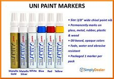 12/pk Uni Paint Markers Permanent Oil-based Marker PX-30 Broad tip Opaque Qty 1