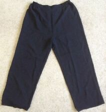 Akl By Nordstrom Plus Size 16W 30W 34W Pant Pull On Black Elastic Waist NEW
