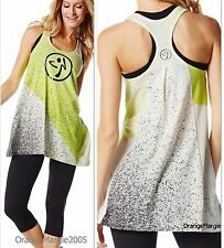 ZUMBA FITNESS LOOSE RACERBACK TOP~fr CONVENTION~Killer When paired with leggings