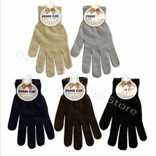 12 24 60 pairs WHOLESALE LOT UNISEX MEN WOMEN MAGIC WINTER WARM KNITTED GLOVES