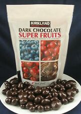 SUPER FRUITS Cherry, Blueberry, Cranberry covered in DARK Chocolate 2 lb HEALTHY