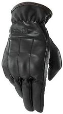 NEW Z1R REAPER LEATHER GLOVES BLACK ALL SIZE HARLEY INDIAN VICTORY TRIUMPH