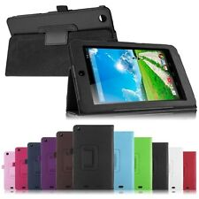Luxury Folio PU Leather Case Cover Stand for Acer Iconia One 7 B1-730HD Tablet