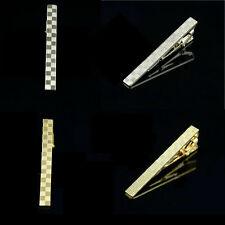 Simple Fashion Gold/Silver Mens Wedding Party Tie Clip Pin Clasp Bar New