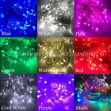 20X 10M 100 LED String Fairy Lights Linkable Christmas Wedding Party Xmas Light