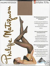 Graduated compression support relaxing tights Philippe Matignon REVITALISE 70NU