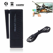 Miracast Wifi Display Dongle TV Receiver 1080P HDMI Wireless AirPlay DLNA IPUSH