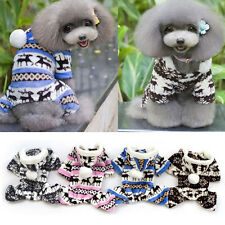 Fashion Pet Dog Warm Clothes Puppy Jumpsuit Hoodie Coat Doggy Apparel Cheap