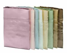 Silk Charmeuse Pillowcase - 100% mulberry Silk - 3 sizes, 7 colors - Each Packed