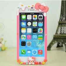 """Hello Kitty Melting Ice Cream Soft Gel Side Bumper Cover Case iPhone 6 4.7"""""""