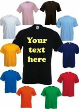 KIDS (AGED 2-11) PERSONALISED PRINTED T SHIRTS - CUSTOM DESIGN -* FREE POSTAGE