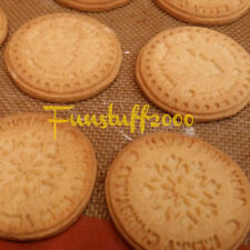 Silicone Wood Cookie Biscuit Stamp Press Mold, option Birthday, Merry Christmas