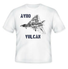 AVRO VULCAN JET - NEW AMAZING GRAPHIC QUOTE T-SHIRT - S-M-L-XL-XXL