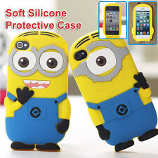 Despicable Me Minion 3D Soft Silicone Protective Case for iPhone 6 5 5S 5C 4 4S