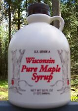 One Quart of 100% Pure Wisconsin Maple Syrup. Your choice of grades.