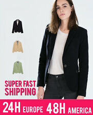 ZARA BLAZER WITH ELBOW PATCHES | 7888/281 | CHOOSE FROM 3 COLOURS